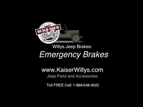 MB M38A1 Hand Brake CJ5. Willys CJ2A Emergency Parking Brake Cable Clevis Yoke