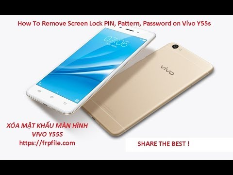 How To Remove Screen Lock PIN, Pattern, Password on Vivo Y55s