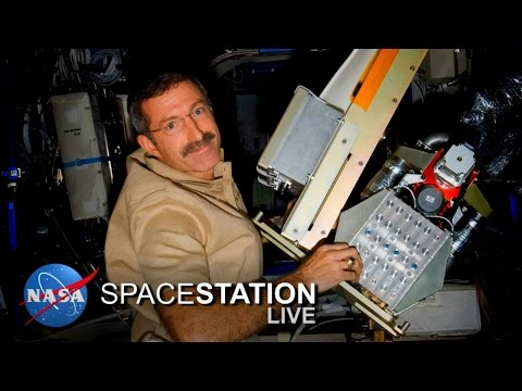 Space Station Live: Space-Proven Air Scrubber