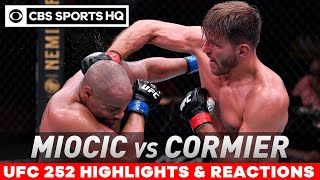 UFC 252 Highlights | Miocic retains heavyweight title with decisive win over Cormier | CBS Sports HQ