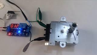 Zaman Rölesi Kuluçka Motor Bağlantısı (Timer Relay Motor Connection)