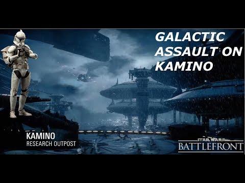 "EA""s Star Wars Battlefront 2 Gameplay - Galactic Assault on Kamino | Clones Vs Droids"