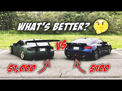 what s better cheap exhaust vs expensive exhaust