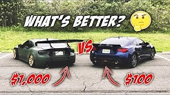 WHAT'S BETTER? CHEAP Exhaust vs. EXPENSIVE Exhaust