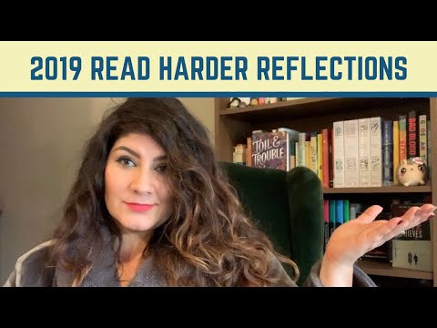 2019 Read Harder Challenge Reflections