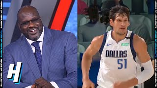 Inside the NBA: Shaq's New Nickname for Boban Marjanovic | August 19, 2020 NBA Playoffs