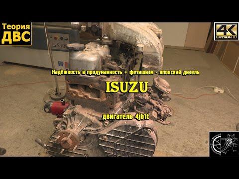 Надёжность и продуманность + фетишизм - японский дизель Isuzu 4jb1t
