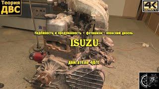 Надёжность и продуманность - японский дизель Isuzu 4jb1t