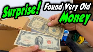 SURPRISE! Very old money found in the
