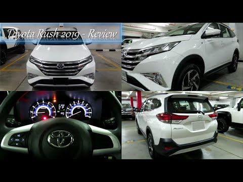Toyota Rush 2019 Dubai, UAE - Interior & Exterior Review