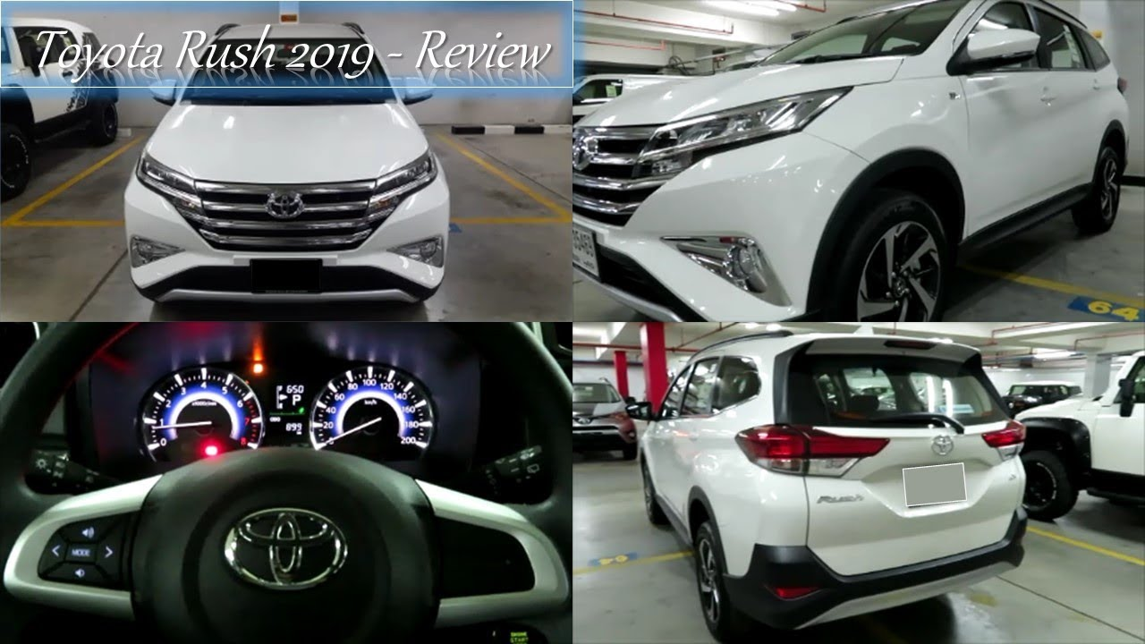 All New Rush 2018 Interior >> Toyota Rush 2019 Dubai, UAE - Interior & Exterior Review - YouTube