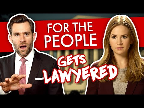 Real Lawyer Reacts to For the people (Episode1)