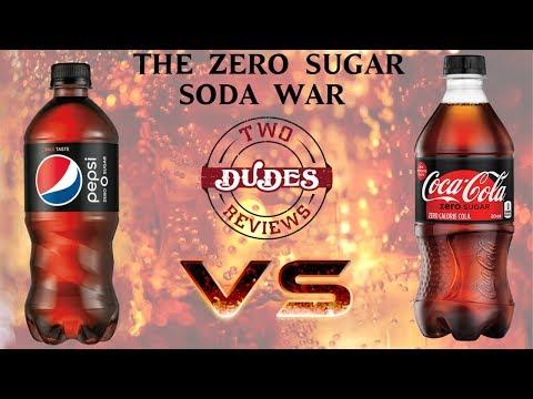 Pepsi Zero Sugar VS Coke Zero Sugar - TDRVS