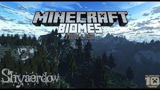 Minecraft Biomes Tier List
