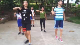 Latihan Tim Dance SMA Negeri 8 Manado