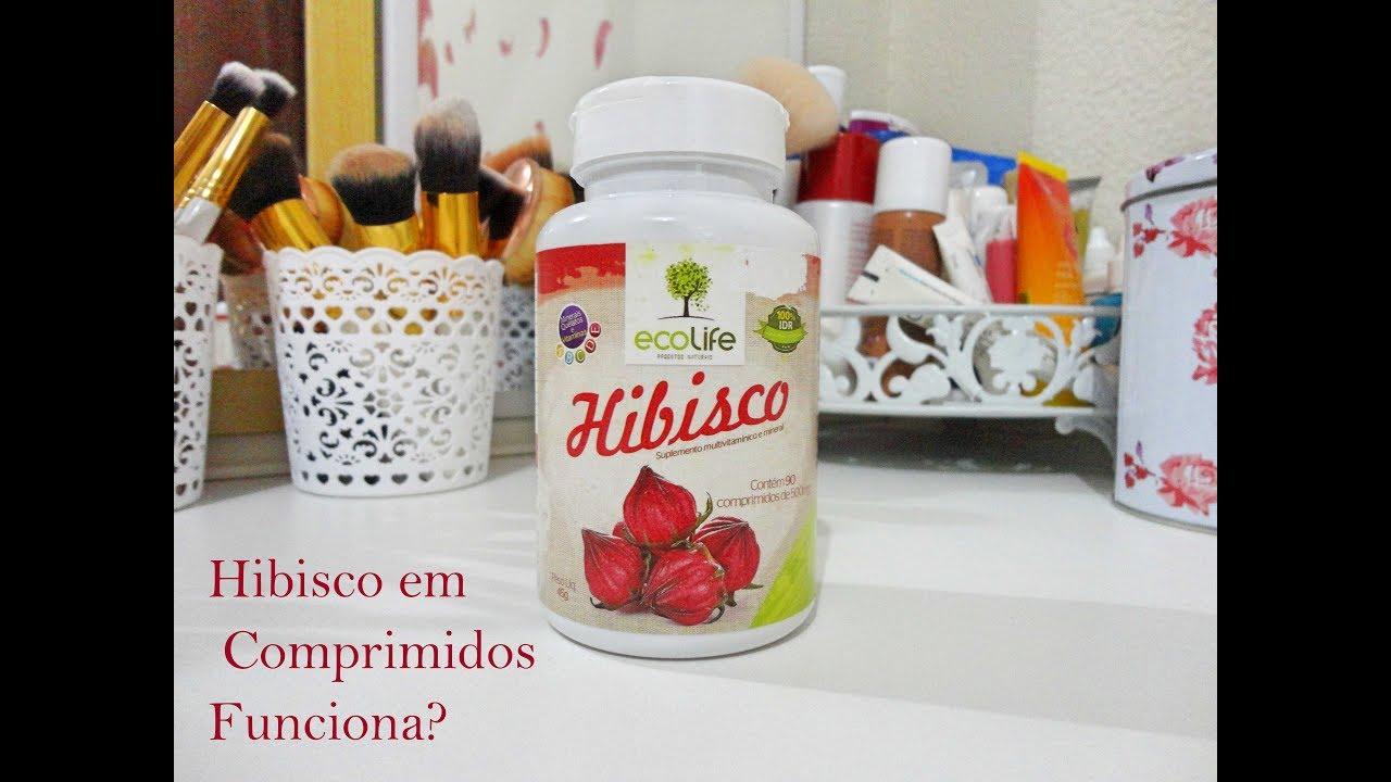 Hibisco capsula emagrece