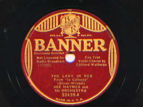 The Lady In Red by Joe Haymes and his Orchestra,1935