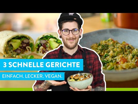Vegane Bio Knusperstäbchen Bowl mit Gemüse
