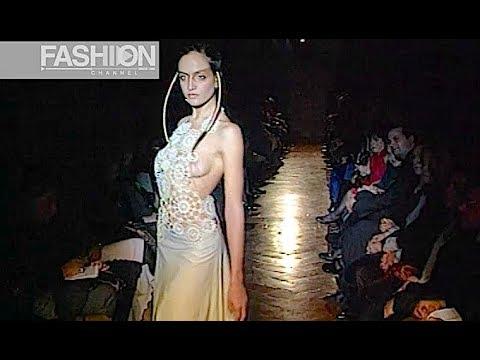 FARHAD Haute Couture Spring Summer 2000 Paris - Fashion Channel