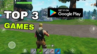 TOP 3 GAMES LIKE FORTNITE FOR ANDROID [2018-9]