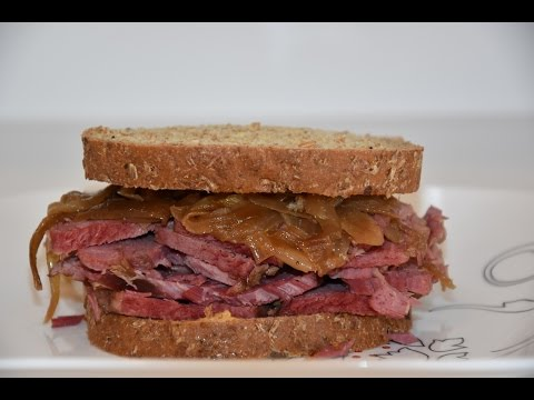 Slow Cooker Corned Beef Recipe - Slow Cooked Corned Beef For Sandwiches
