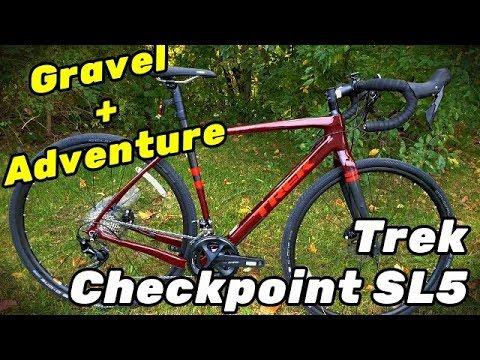 2019 Trek Checkpoint Sl5 Amazing Gravel Bike