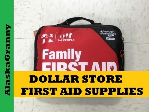 First Aid Supplies From Dollar Tree