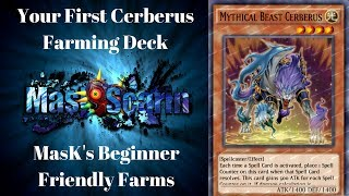 Your First Cerberus Farming Deck -MasK's Beginners Guide to Farming| YuGiOh Duel Links w/ MasKScarin