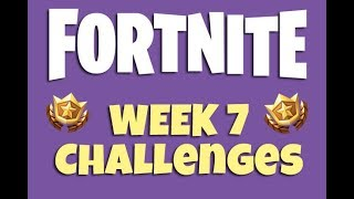 Fortnite Week 7 Challenges LEAKED !!! ( FORTNITE BLOCKBUSTER SKIN ! )