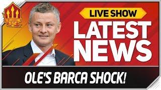 Solskjaer's Barcelona Surprise! Man Utd News