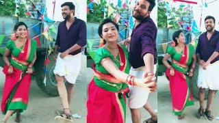 Vijay Tv Serial Nenjam Marappadhillai Sharanya  Latest Dubsmash  Tamil Aathiq
