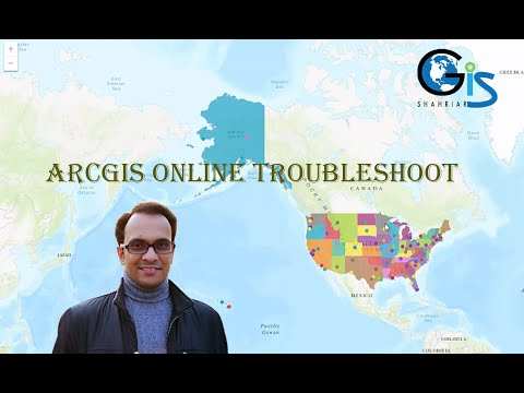 ArcGIS Online Embed Map Problem Solution With HTML Code (Lecture:44, Course:Web GIS & ArcGIS Online)