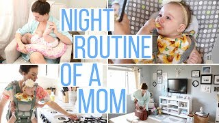NIGHT TIME ROUTINE OF A MOM! EVENING ROUTINE 2017 | Hayley Paige