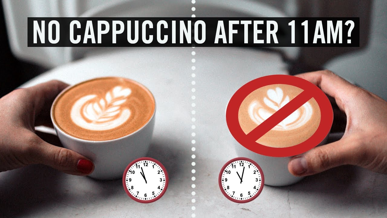 Why Italians Don't Drink a Cappuccino After 11am