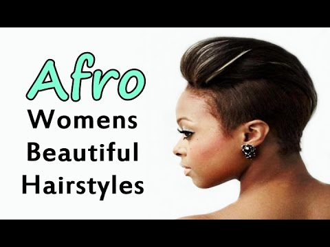 Afro Womens Beautiful Hairstyles Youtube