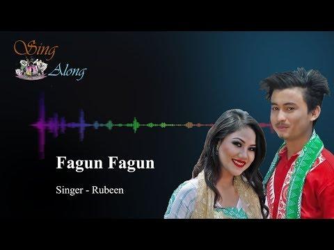 Fagun Fagun (Lyrical Bodo Song) By Rubeen