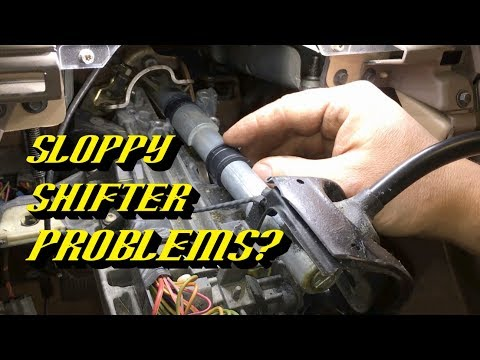 Ford Vehicles Loose Steering Column Shifter: Shift Tube Bushing Replacement Guide