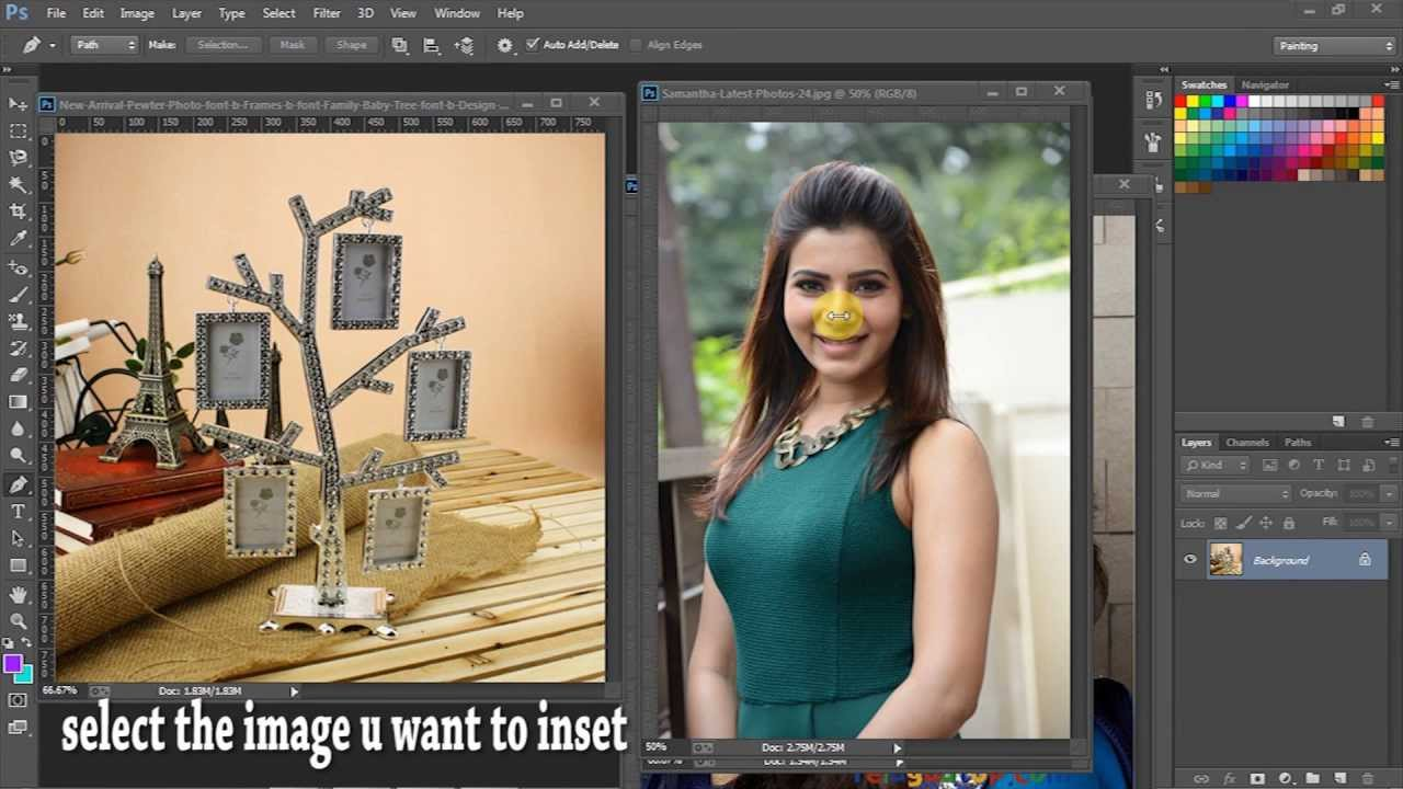 how to insert a photo into pdf