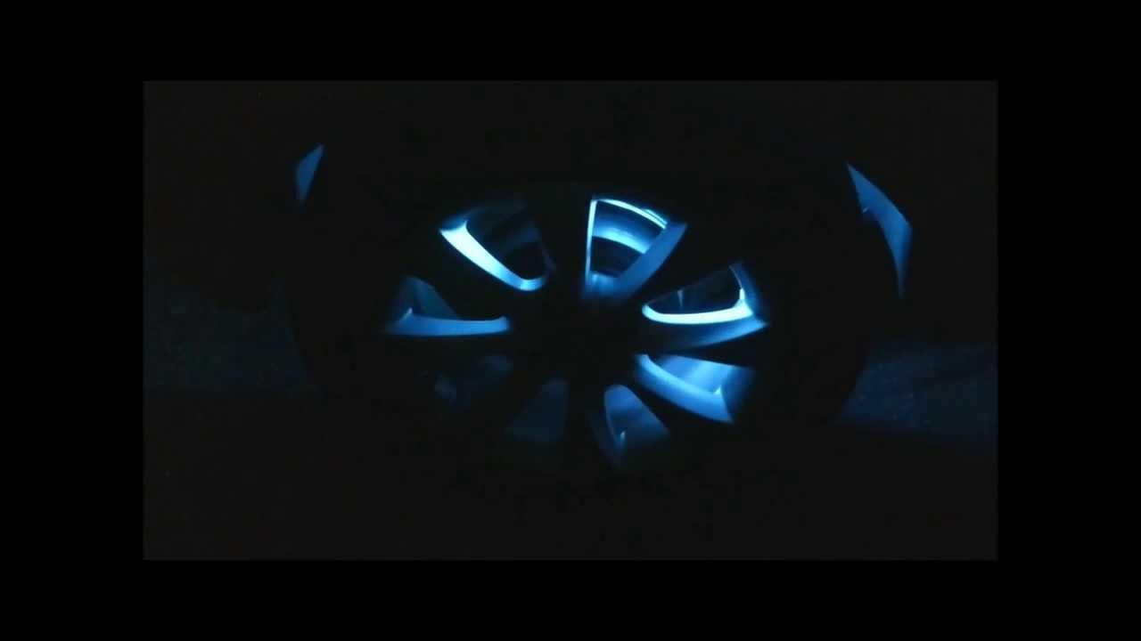auto led felgen beleuchtung rgb rot gr n blau licht an der alufelge led wheels rims opel corsa d. Black Bedroom Furniture Sets. Home Design Ideas