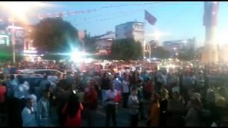 Çorum Halkı Gazi Caddesinde Toplandı