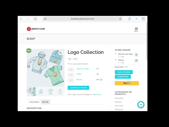 Business Template  - Online Shopping