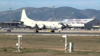 airport palma de mallorca p3 orion take off