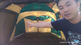 เต็นท์coleman  round screen 2 room house กันฝน ฟลายชีท กาง ง่าย ท่องเที่ยว
