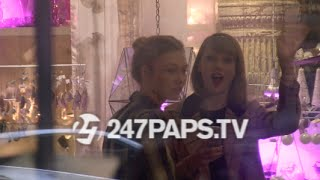 Taylor Swift AND Karlie Kloss Shopping at ABC Carpet & Home in NYC 11-12-14