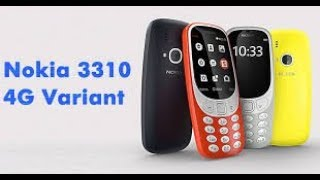 Nokia 3310 4G Volt Launched: Features, Specifications,  and Review /By Technocrat Brother