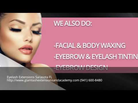 Best Eyelash Extensions Sarasota Florida FL - YouTube
