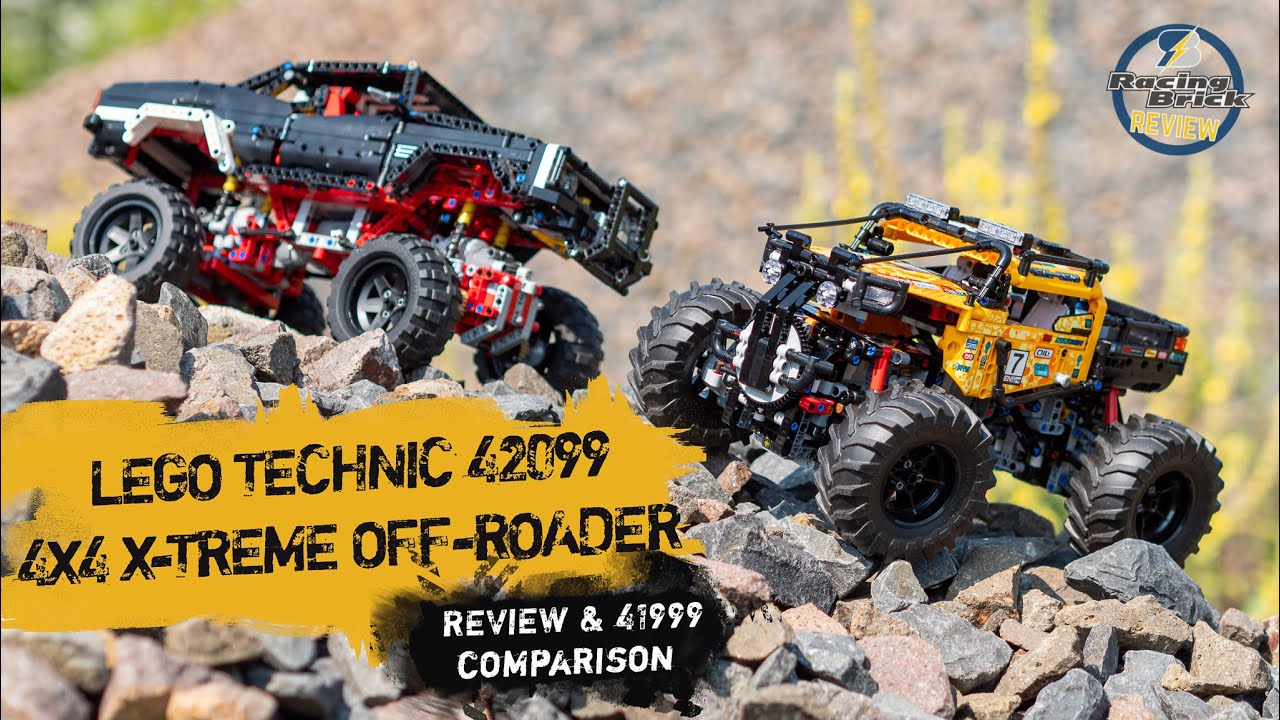 5 Minute Upgrade Turn The Lego Technic 42099 4x4 X Treme Off Roader Into A Capable Crawler Youtube