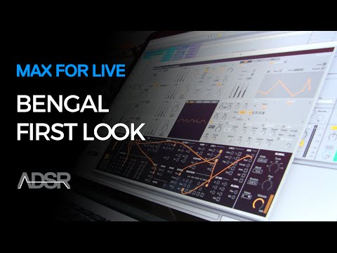 Bengal - Semi-modular FM synth for Ableton​ Live - First look