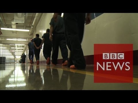Inside America's $2bn immigrant detention industry - BBC News