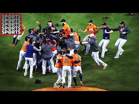The Houston Astros Have Won The World Series!